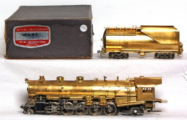 815: KTM Scale Models brass O scale UP 2-10-2