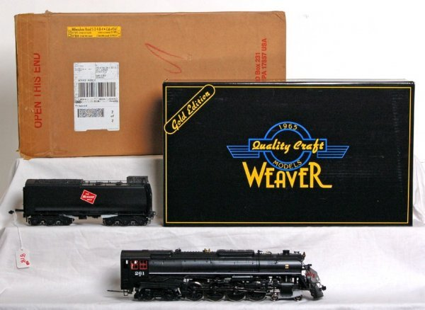 818: Weaver Milwaukee Road S-3 4-8-4 Northern in OB