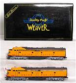897: Weaver Gold Ed. U.P. EMD E-8 AA diesel units