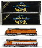 990: Two Weaver Union Pacific Alco C-630 diesels