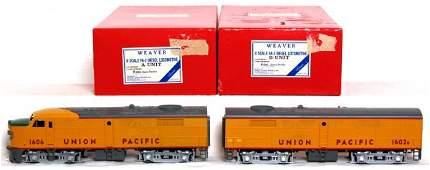 1101: Weaver U.P. FA-2 A-B units in OB