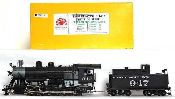 1250: Sunset Models brass Russian Decapods 2-10-0