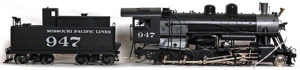 1250: Sunset Models brass Russian Decapods 2-10-0 - 2