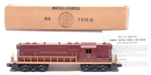 2010: Lionel 2028 Pennsylvania GP7 Diesel Like New OB