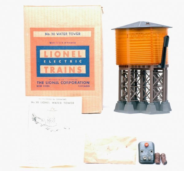 2011: Lionel 30 Water Tower MINT Boxed
