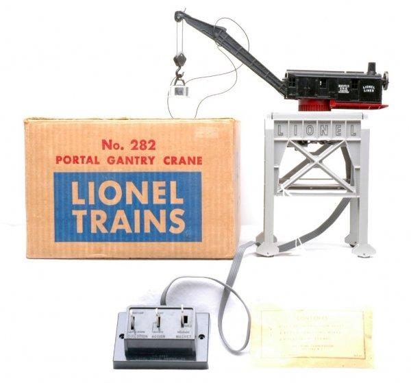 2015: Lionel 282 Portal Gantry Crane Like New Boxed