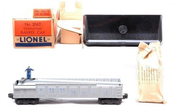 2016: Lionel 3562-25 Gray Barrel Car MINT Boxed