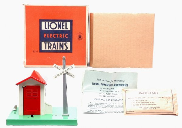 2017: Lionel 45N Automatic Gate Man Like New Boxed