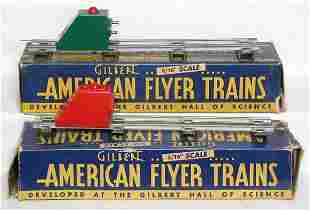 American Flyer 730 bumpers, red and green