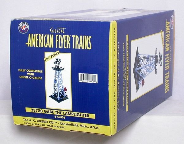 1017: American Flyer 49805 Lionel Gabe the Lamplighter