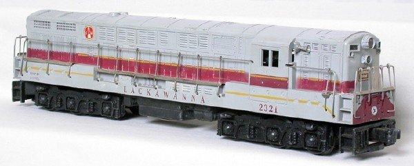 1401: Lionel 2321 Lackwanna gray-top Train Master