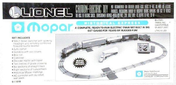 1403: Lionel 11818 Mopar freight set, OB
