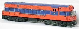 Repro Lionel 2341 Jersey Central Train Master