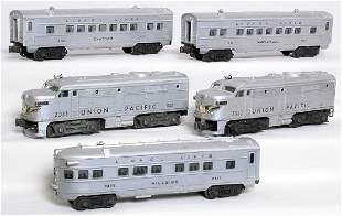 Lionel 2033 silver UP Alco A-A, 2421 2422 2433