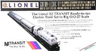 Lionel 11828 NJ Transit passenger set, OB.