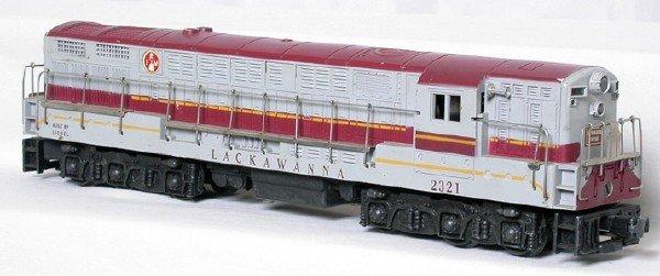 1409: Lionel 2321 Lackawanna maroon-top Train Master