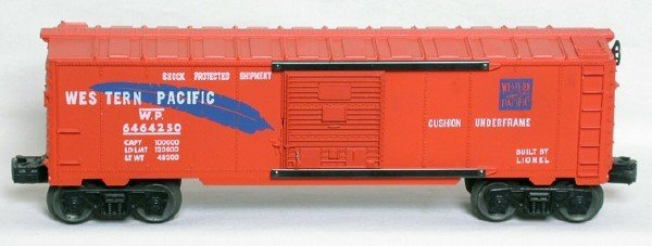 1411: Lionel 6464-250 Western Pacific boxcar