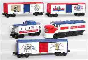 Lionel Liberty Special freight set 8570 w/ 4 cars