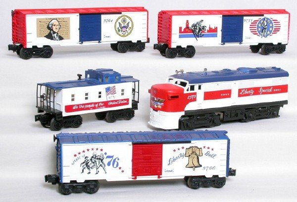 1414: Lionel Liberty Special freight set 8570 w/ 4 cars