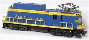 Lionel 2329 Virginian rectifier locomotive