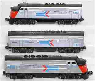 Lionel Amtrak F3 A-B-A set 8466 8475
