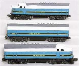 Lionel Baltimore Ohio F3 A-B-A 8363 8364 8468