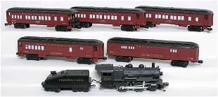 Lionel Pennsylvania passenger set, 8506, 5 cars