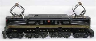 Restored Lionel 2332 black GG1
