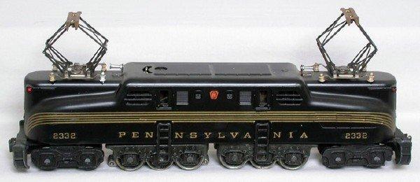 1421: Restored Lionel 2332 black GG1