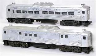 Lionel 400 404 Baltimore Ohio RDC units