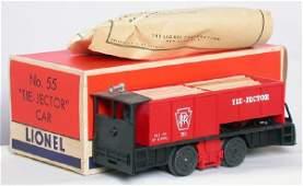 1478: Lionel 55 tie-jector car, OB