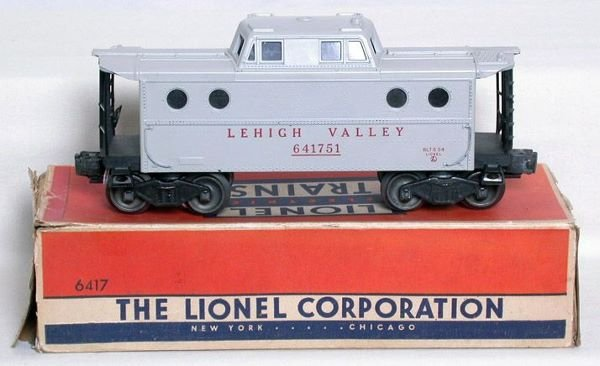 3000: Lionel 6417 gray caboose with OB