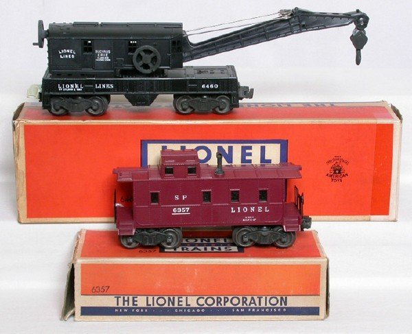 3001: Mint Lionel 6460 and 6357 in boxes