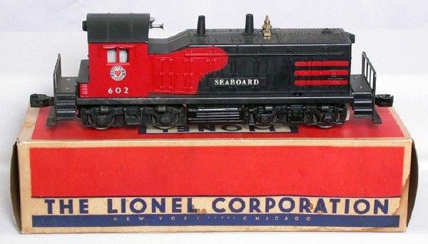 3002: Lionel 602 Seaboard switcher in OB