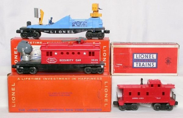 3003: Lionel 3535, 3545 and 6257 in boxes