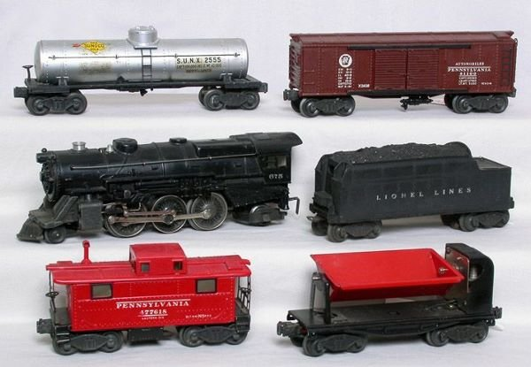3006: Nice early Lionel 2123WS set with 675 in boxes