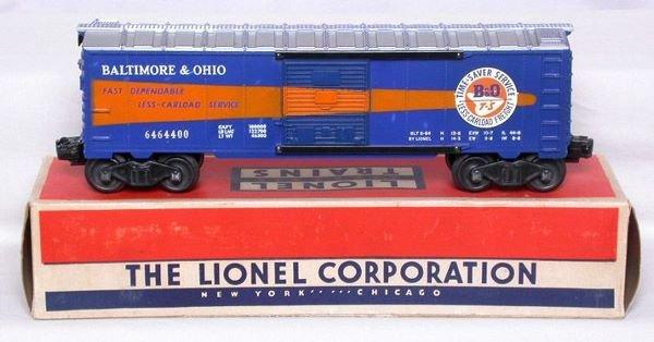 3010: Lionel 6464-400 Baltimore and Ohio in box