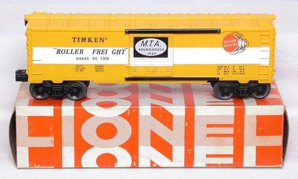 3012: Lionel 6464-500 Timken MTA ROUNDHOUSE 1969