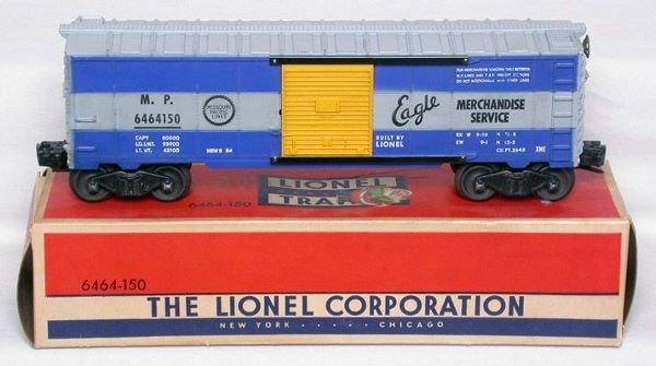 3015: Lionel 6464-150 Missouri Pacific boxcar in box