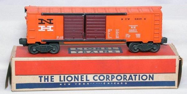 3020: Lionel 6468-25 New Haven boxcar in box