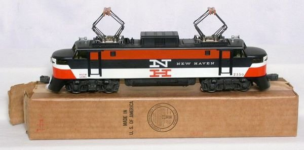 3021: Lionel 2350 painted nose New Haven in box