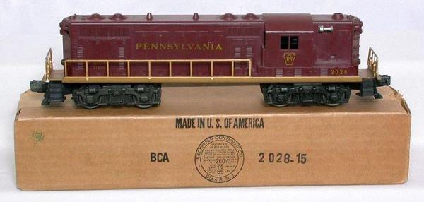3022: Mint Lionel 2028 Pennsylvania GP in box