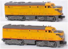 3204 Lionel 2023 Union Pacific gray nose alcos