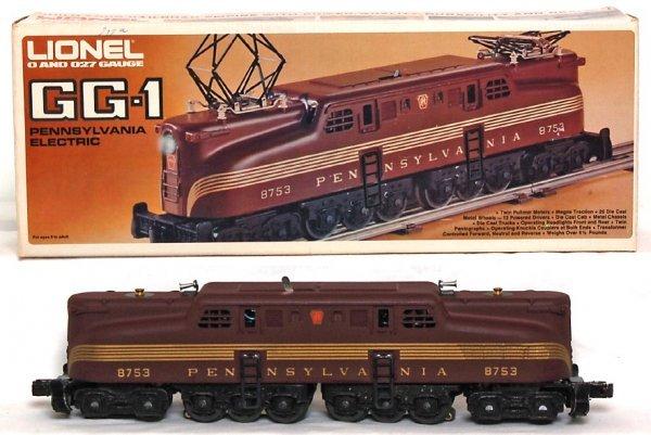 13: Lionel 8753 Pennsylvania GG-1 in original box