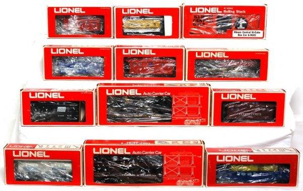 14: Lionel 9186, 9166, 9136, 9144, 9601, 9123, more
