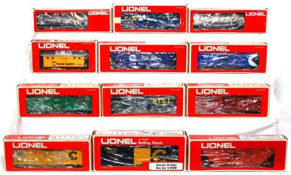 16: Lionel 9752, 9260, 9748, 9750, 9751, 9600, more