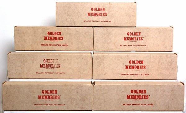 24: Seven Williams Golden Memories passenger cars