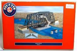 86 Lionel 24111 swing bridge in original box