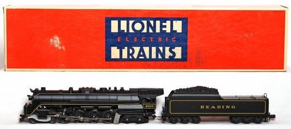 505: Lionel 18006 Reading T-1 4-8-4 loco in OB
