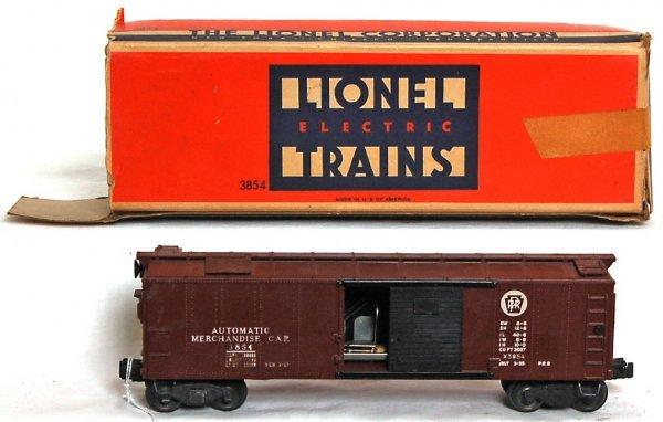 826: Lionel 3854 Pennsylvania operating merchandise OB